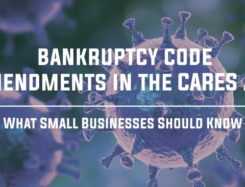 Bankruptcy Code Amendments in the CARES Act