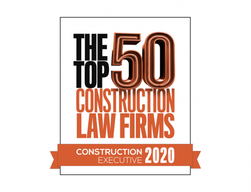 Riess LeMieux Ranked in the Top 50 Construction Law Firms for the Second Year in a Row