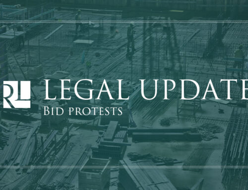 Legal Update:  Lathan Constr., LLC v. Webster Par. Sch. Bd. and Geosport Lighting Sys., LLC v. Bossier City (April 2021)