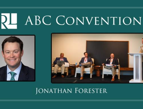 Jonathan Forester at ABC Convention